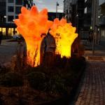 Spektra Neon AB Konstverk Svampar och Näckrosor av Nikolina Ställborn
