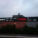 Spektra Neon AB Skyltband Haninge Centrum